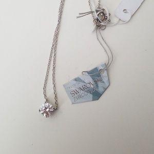 14 in Swarovski zirconia necklace